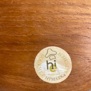 Vintage Kitchen - Vintage himark kitchen wooden bowl 4 piece set